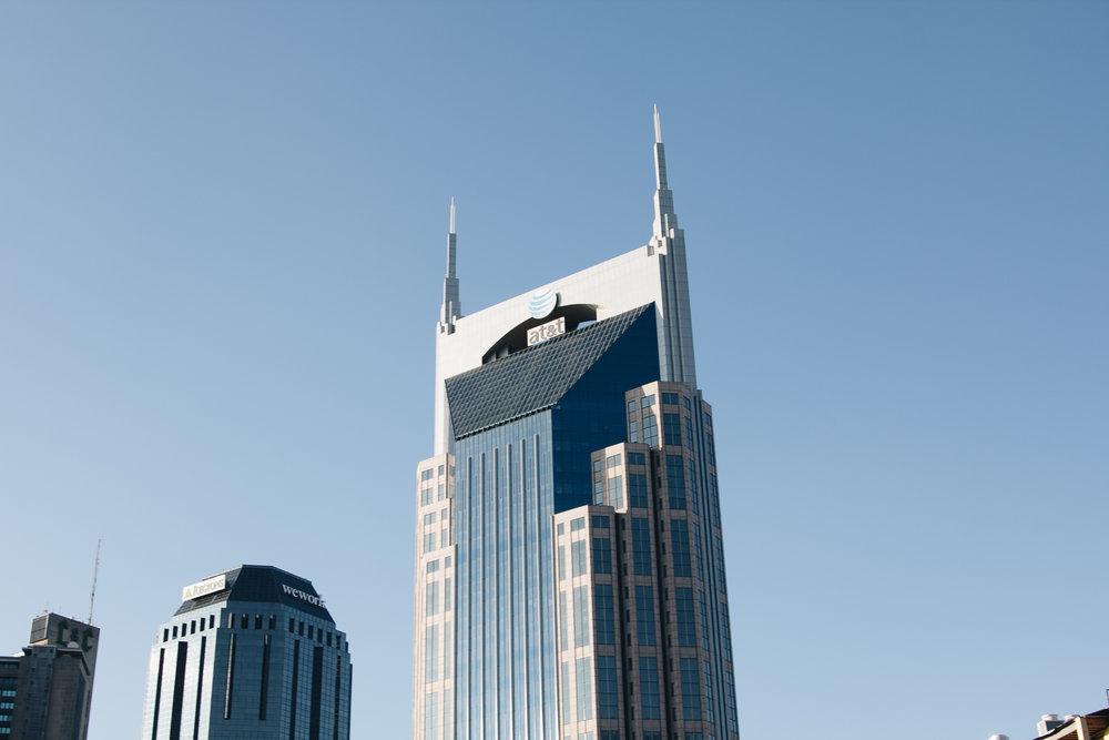 Signage Visibility Downtown Nashville