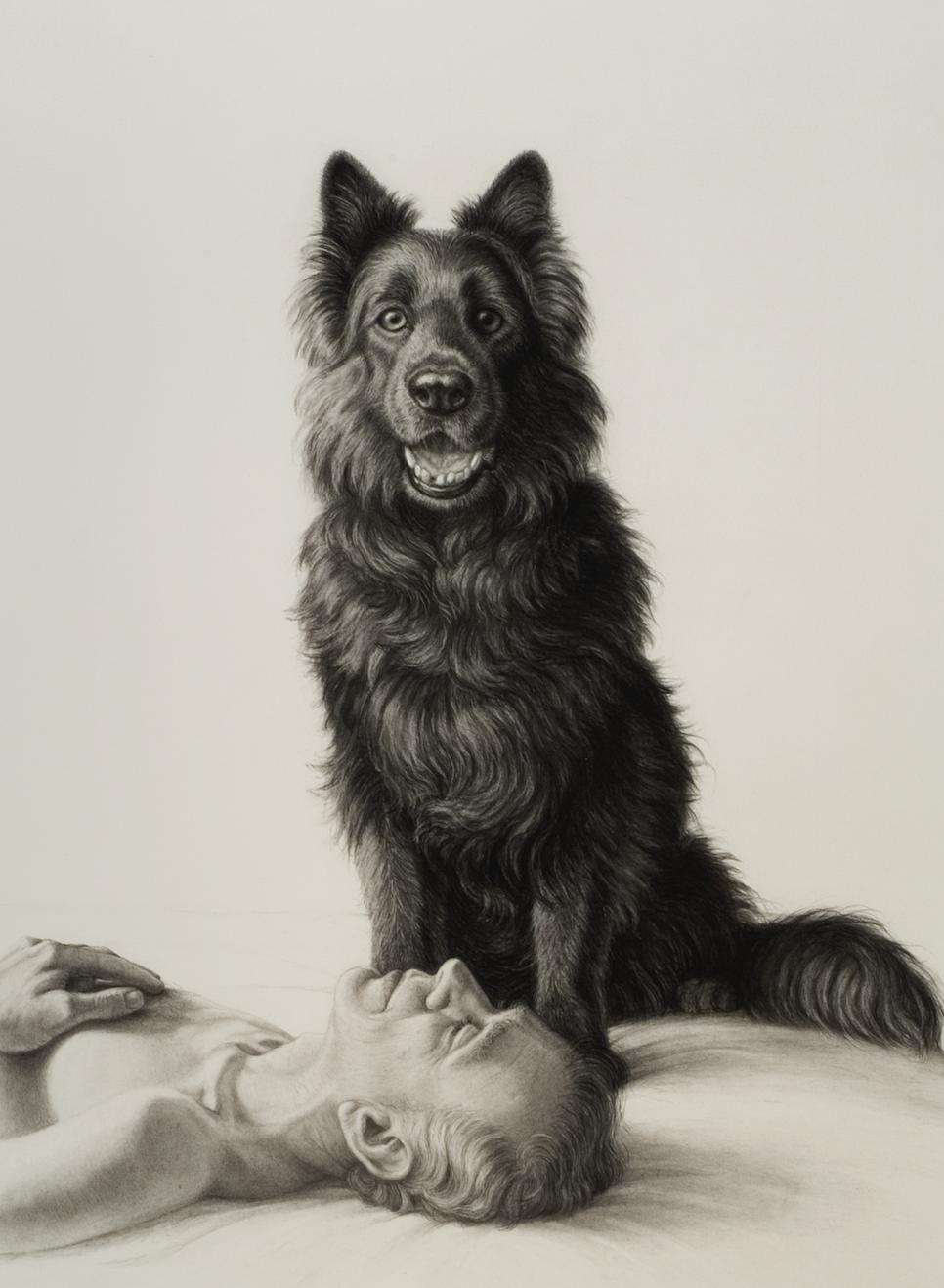 "LEHRER, ""Tim O'Dowd and Buddy"", 2002"