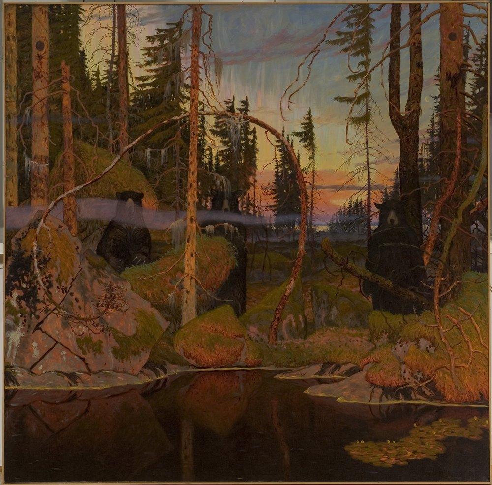 """UTTECH, """"Sabaskong Bay"""", 1986"""