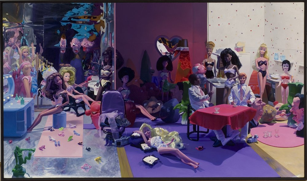 """HELMICH, """"Doll #6 (The Barbie Party)"""", 2002"""