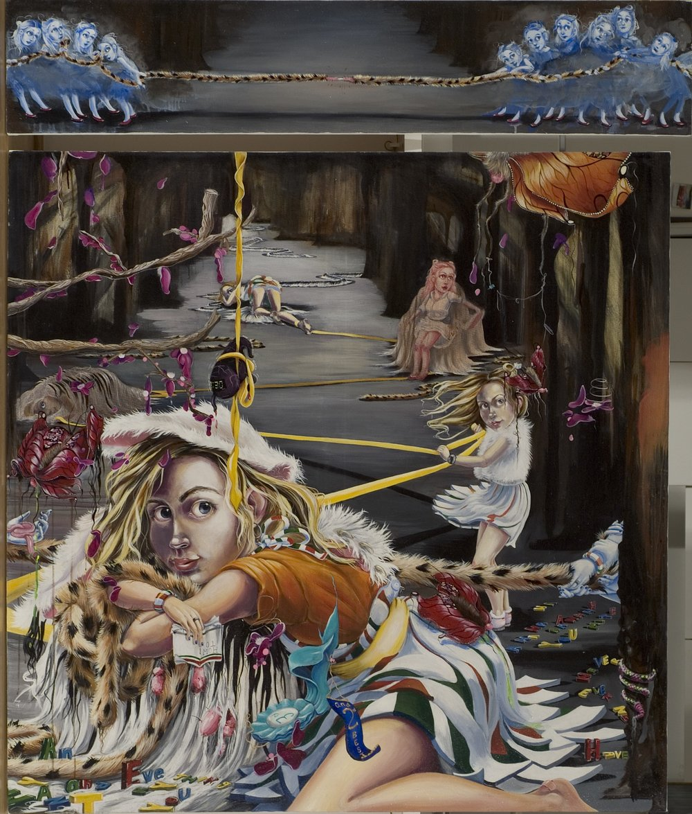 """ROMANO, """"The Competition:Part2: To the Finish"""" , 2004"""