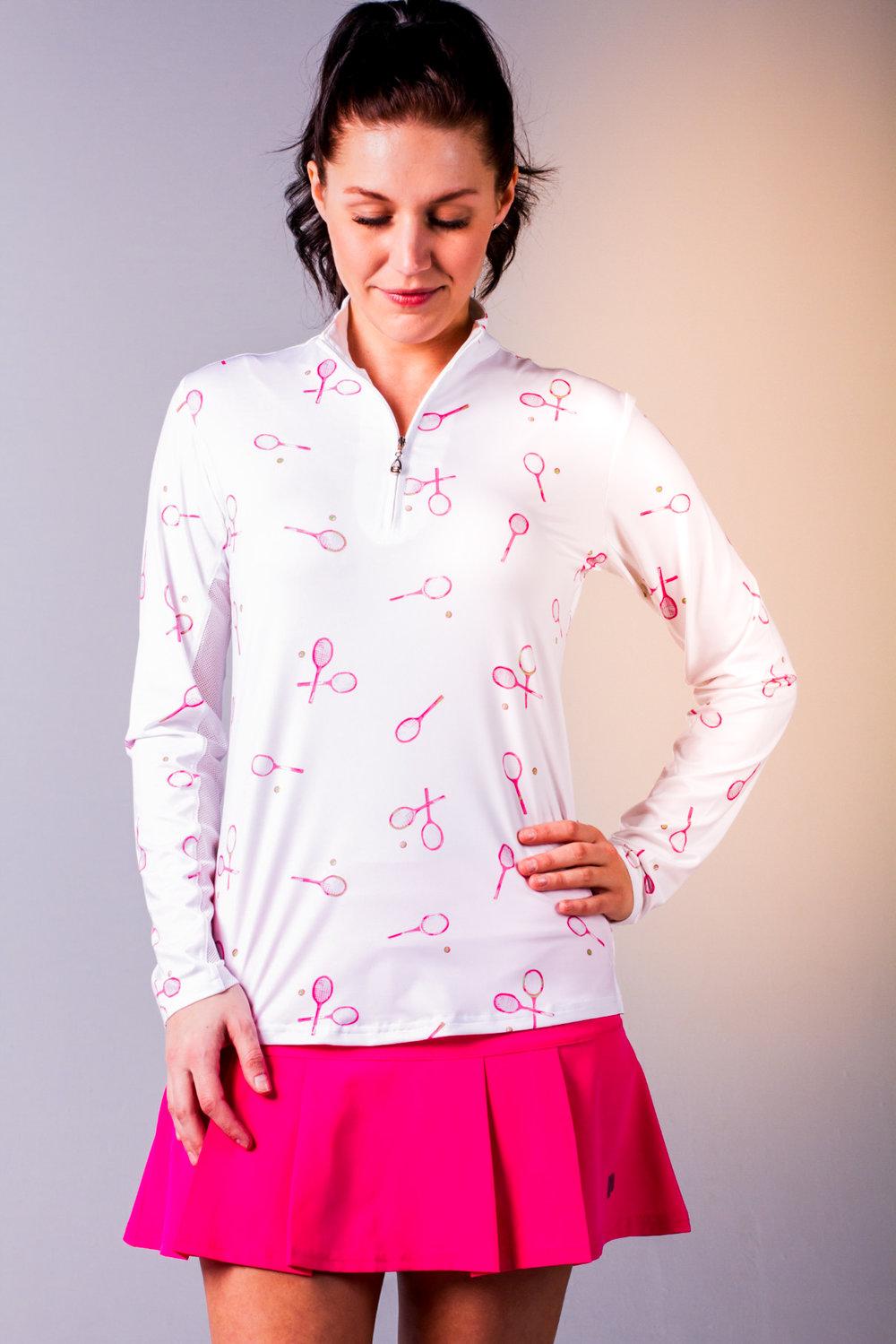 900463 SolCool Tee Time Pink. Zip Mock. SanSoleil (1) - Copy.jpg