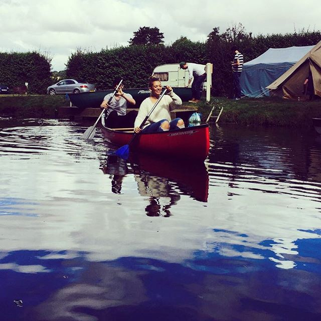 Racing to the pub! @libertystorm #RushbanksFarm #RiverStour #DedhamVale #Suffolk #Essex #Colchester #Canoe #CanadianCanoe