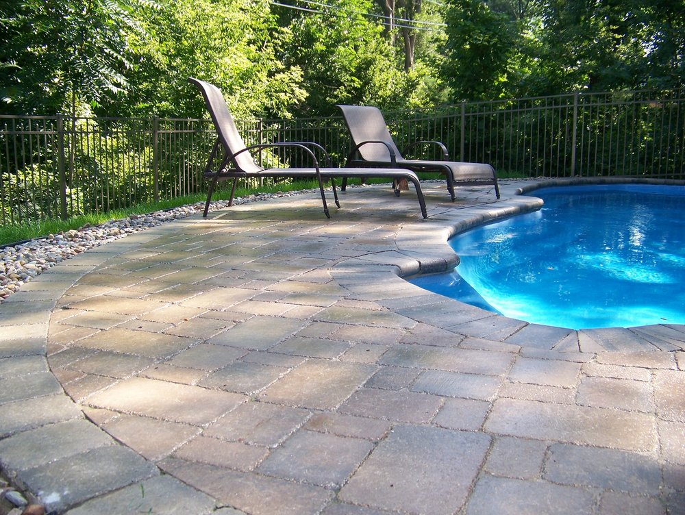 Pool patio in East Peoria, IL