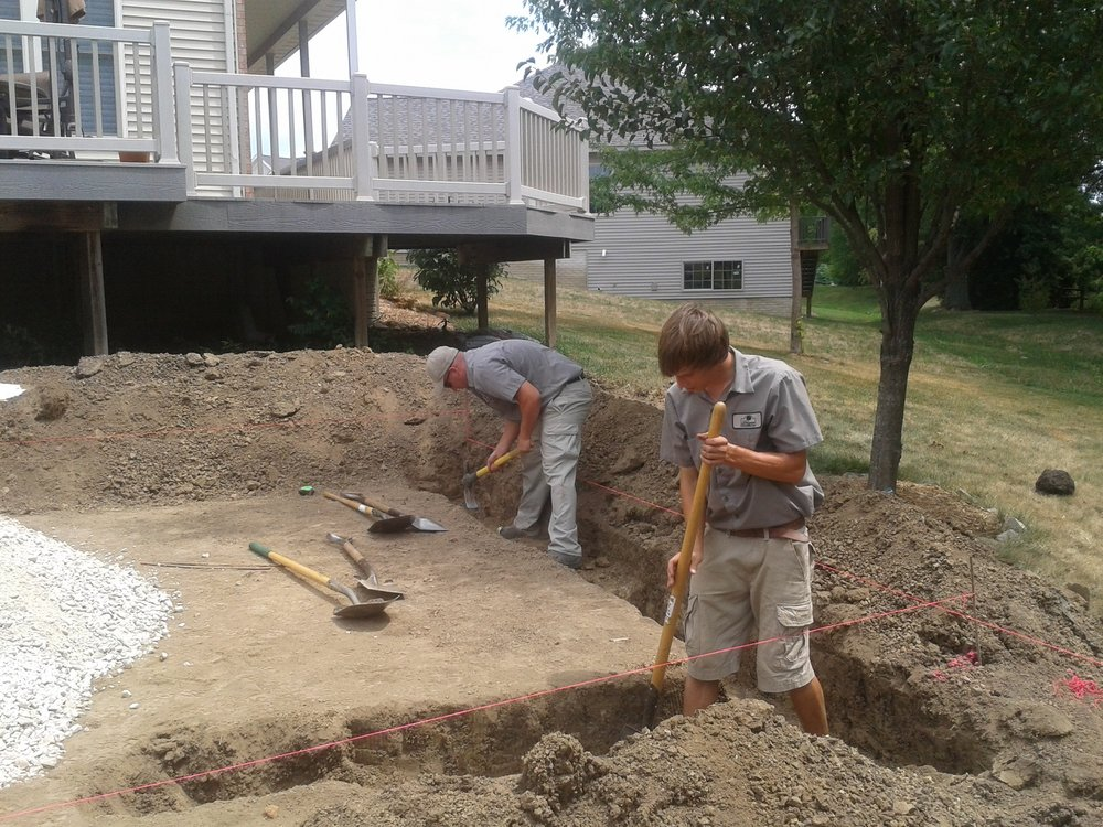 Landscape Installation in East Peoria, IL