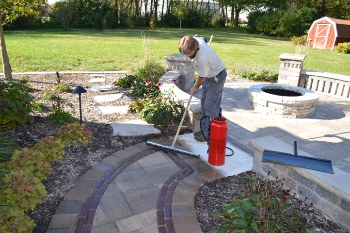 Hardscape maintenance in East Peoria, IL
