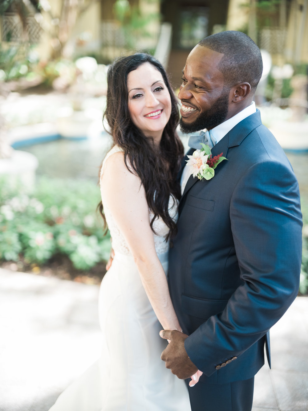 Jet Set Wed :: A Blooming Modern Brunch at Hyatt Regency Coconut Point :: Aly & Matt