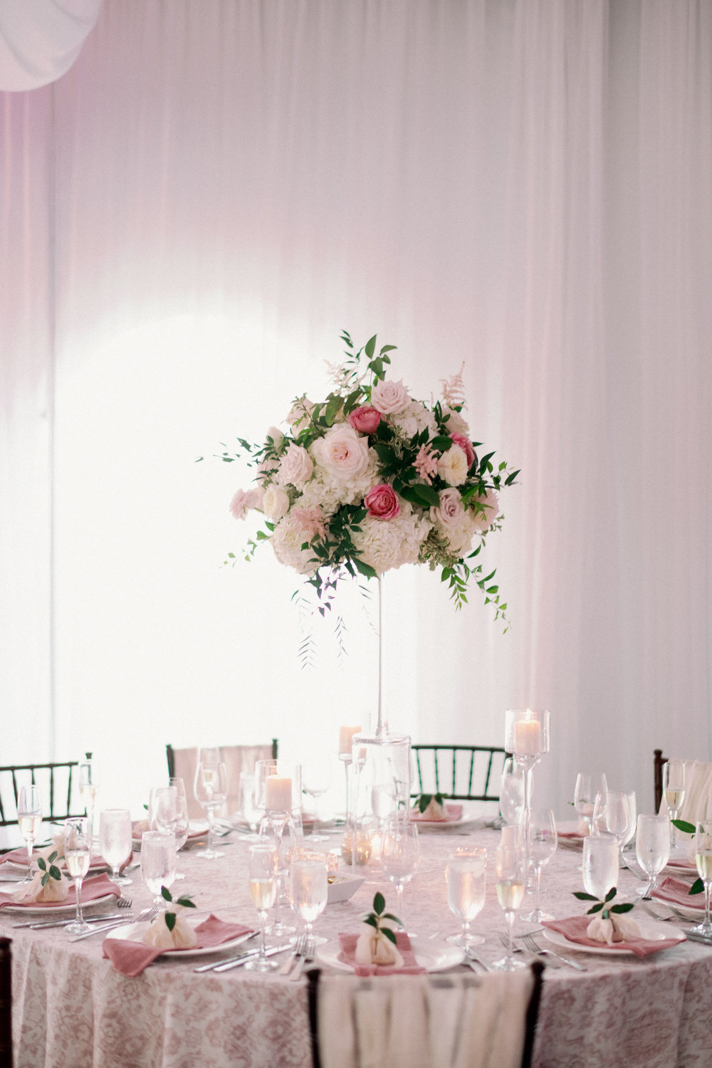 Jet Set Wed :: Perfectly Pink Lush Tented Garden Wedding