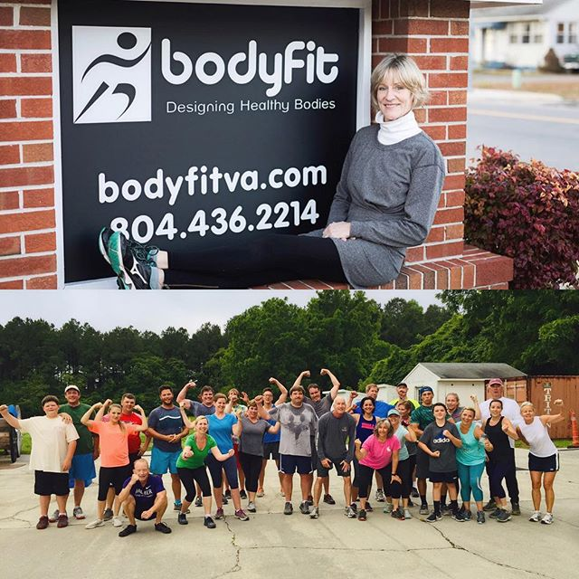 Just 2️⃣0️⃣ days left to enroll in Bodyfit's Bootcamp! This fun morning group exercise format is a blast for ladies and gents of ALL ages and ALL fitness levels!