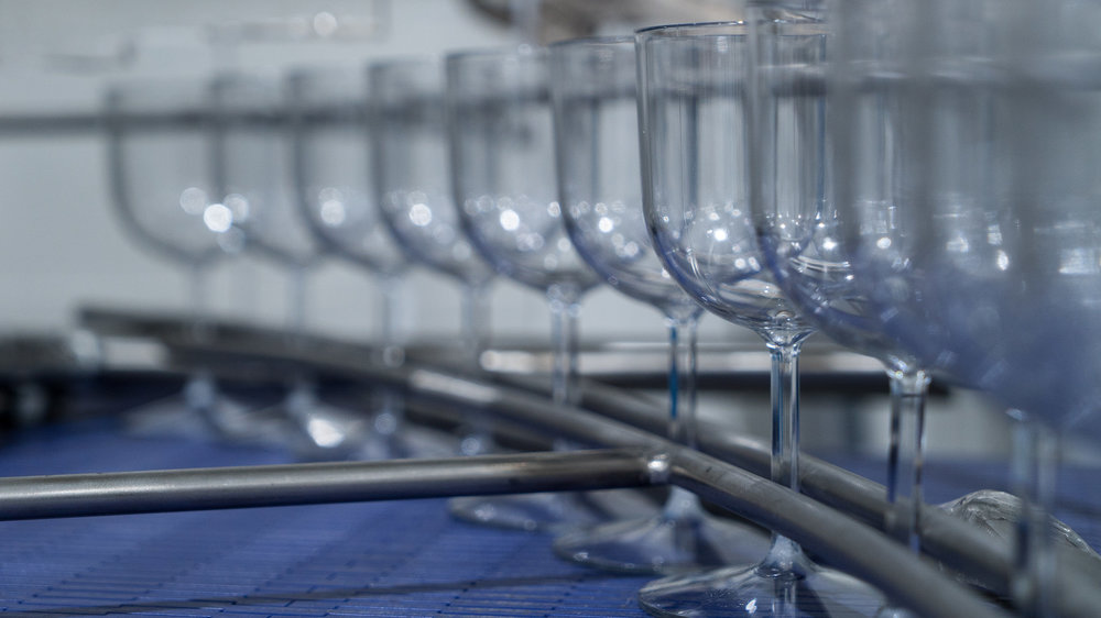 Take a look at our single serve wine glasses, pre-filled to the correct level.