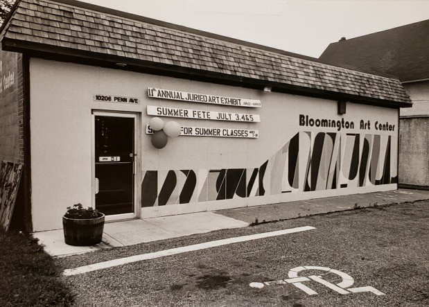 The building and organization known as the bloomington art center, circa 1976