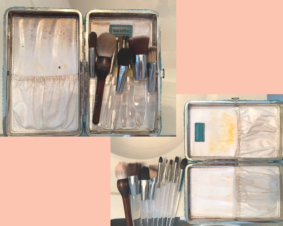 Cleaning makeup brushes is so important! This was part of The Edit service for this wonderful client.