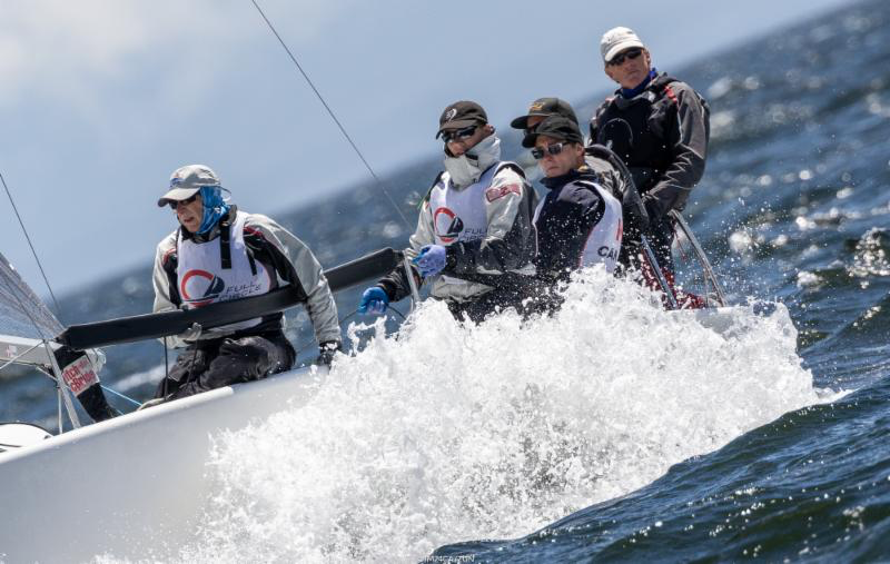 The local Royal Victoria Yacht Club team of Full Circle CAN415 by Robert Britten with crew of Graham Harney, Jose Grandizo, Liam Welgan-Gunn and Reid Cannon claimed the Worlds' title in the Corinthian division. - Photo (c)IM24CA/Zerogradinord