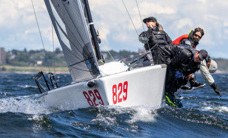 Runner-up of the Worlds 2018 is American WTF by Alan Field and crew of Erik Shampain, Willem Van Waay, Steve Hunt, Lucas Calabrese. - Photo (c)IM24CA/Zerogradinord
