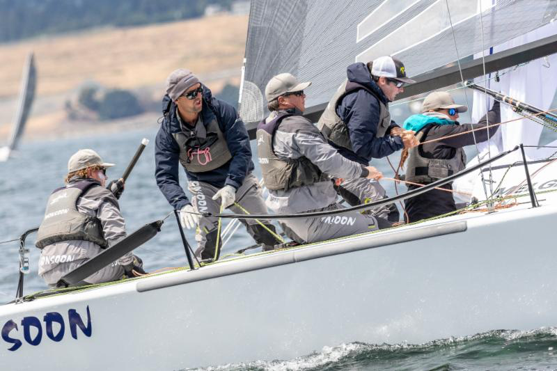 Bruce Ayres' Monsoon USA851 scored second place twice today and is on 3rd position after Day Three. - Photo (c)IM24CA/Zerogradinord