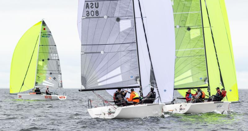 Corinthian team Good Enough USA806 by Matt MacGregor made a great result being second in one race today and remains the leader of the Corinthian division. - Photo (c)IM24CA/Zerogradinord