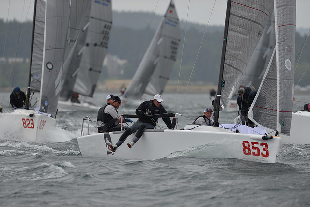 Richard Reid's Zingara CAN853 - the best Canadian team and the only one to score two bullets from the event - photo copyright ©Thomas Hawker