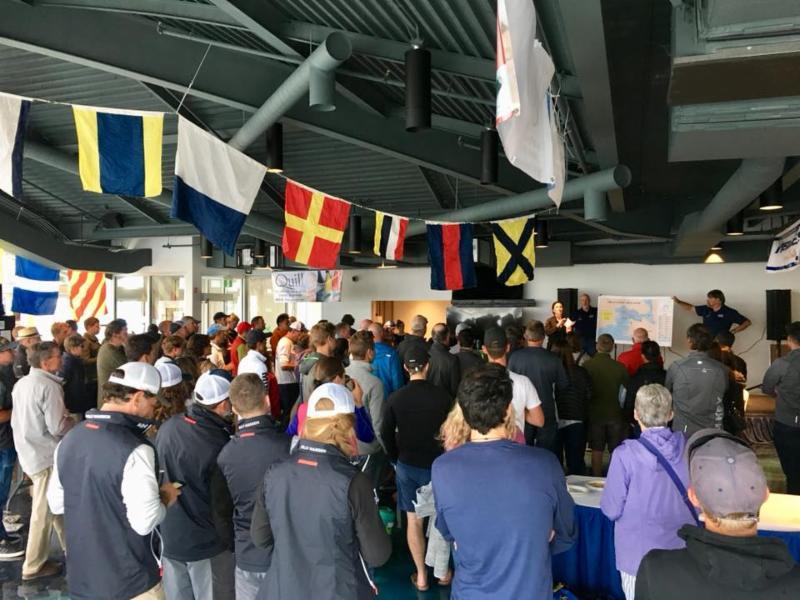 Skippers Briefing in Victoria International Marina - photo IM24CA