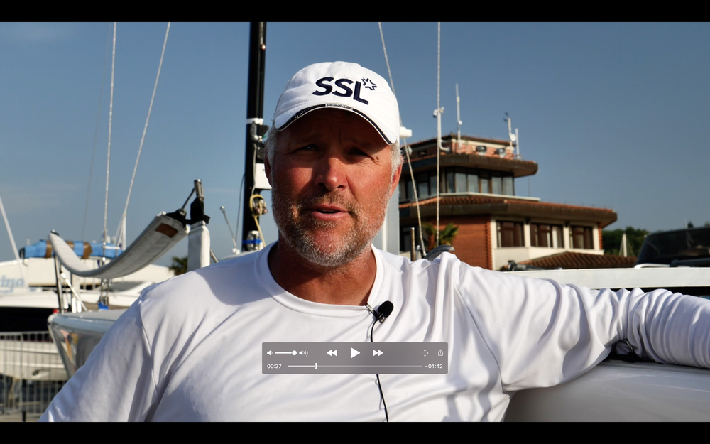 Interview with Mark Strube, crew of the War Canoe USA841 - video edited by Zerogradinord