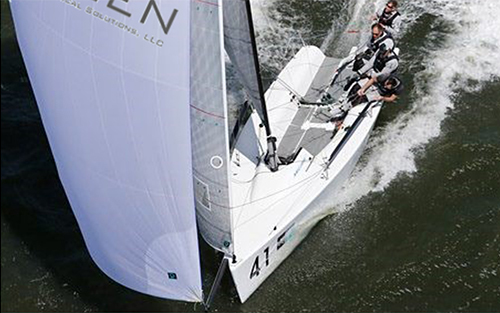 The  Melges 24  Quantum  World Winter Series (M24QWWS)  returns to Charleston on April 7-9 for Act 2 -  U.S. Nationals , hosted by Charleston Yacht Club.