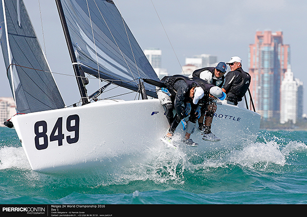 Currently third in the M24QWWS is 2013 World Champion and four-time National Champion Brian Porter, whose  Full Throttle  was on the podium in Act 1- Miami Worlds.