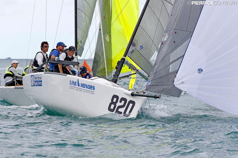 Bora Gulari's Air Force 1/West Marine Rigging USA820 - 2016 Melges 24 World Championship - Miami - Day4 - photo (c) Pierrick Contin