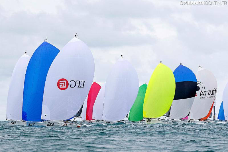 2016 Melges 24 World Championship - Miami - Day 4 - photo (c) Pierrick Contin