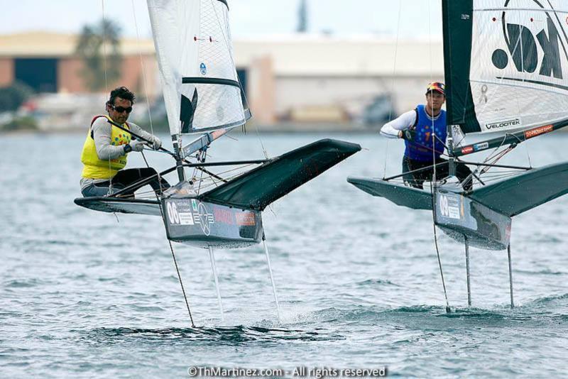 Bora Gulari winning for the second time Moth Worlds in 2013 - photo (c)ThMartinez.com