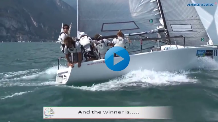 2012 Melges 24 World Championship in Torbole, Italy - And the winner is...  Video edited by Zerogradinord.it