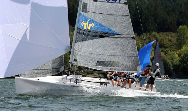 MudRatz Melges 24 team sailing - photo by MudRatz