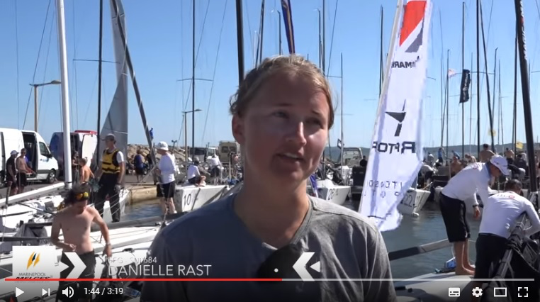 Interview with Dani Rast - EFG SUI684 - 2016 Marinepool Melges 24 Europeans in Hyeres, France - video edited by Zerogradinord