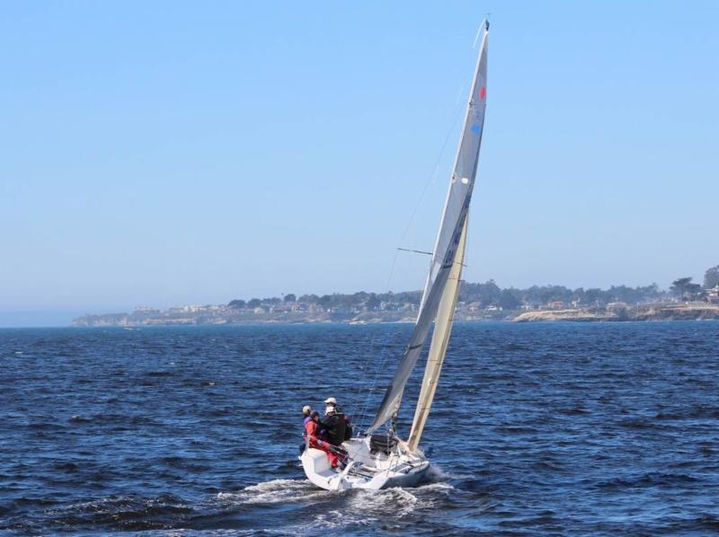 Sallie Lang and her Melges 24 POSSE USA140