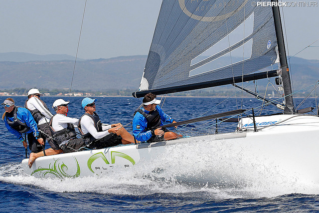 Andrea Racchelli's ALTEA (ITA735) at the 2016 Marinepool Melges 24 Europeans in Hyeres, France - photo Pierrick Contin Interviews from the Line Honors 2016 Melges 24 U.S. Nationals talking with the teams about their preparations for the Worlds in Miami - edited by Marc Noel, Okanagan Sailing