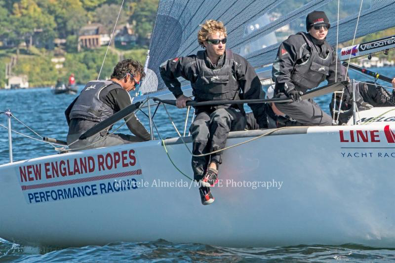 Bora Gulari's team (USA820) at the 2016 Line Honors Melges 24 U.S. Nationals - photo Michele Almeida / MISTE Photography