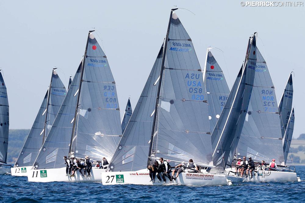 2015 Melges 24 World Championship in Middelfart, Denmark - photo Pierrick Contin