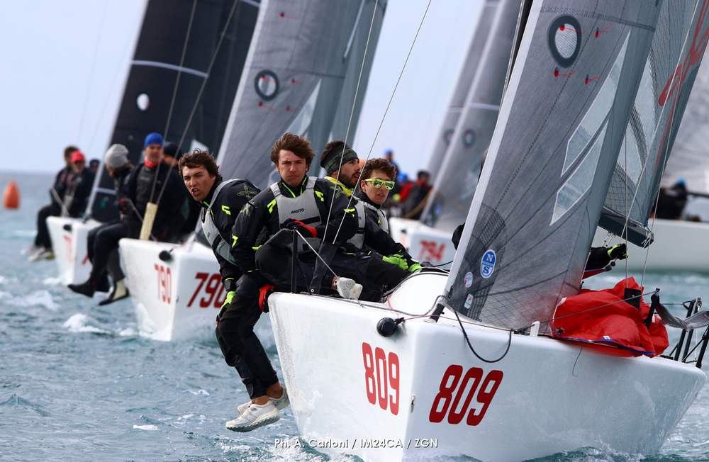 Arkanoe by Montura ITA809 helmed by Sergio Caramel is on the second position in Portoroz after Day One. - photo (c) Andrea Carloni/IM24CA/ZGN