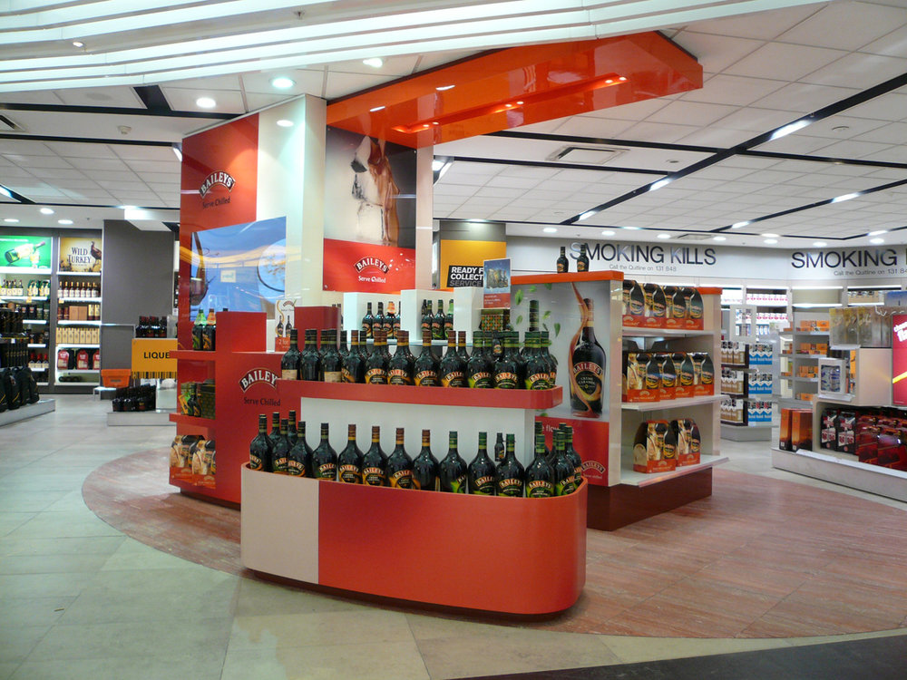 Bailey's Point of Sale Display
