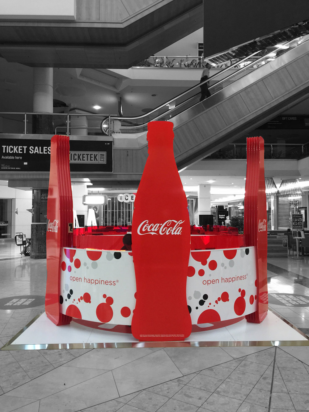 Coke at Westfield Parramatta