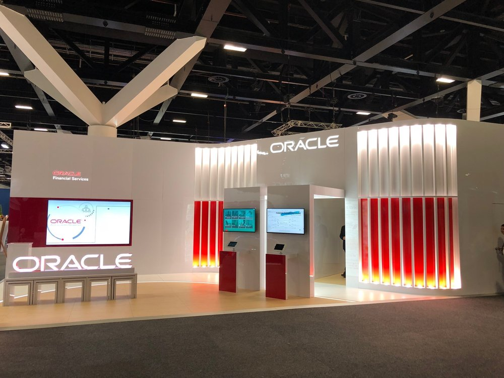 Oracle Stand at SIBOS, 2018