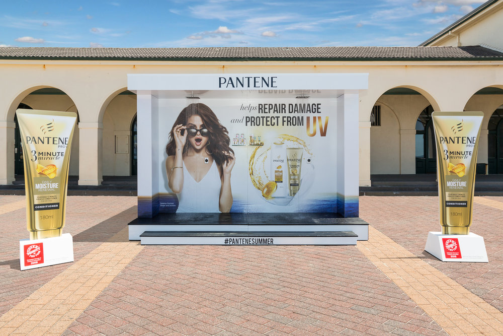 Pantene Shower at Bondi Beach, 2017