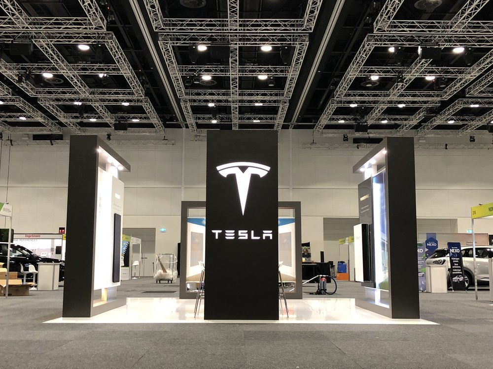 Tesla at the All-Energy Show 2018
