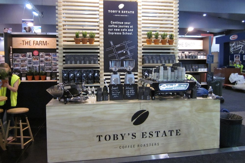 Toby's Estate at the Good Food & Wine Show