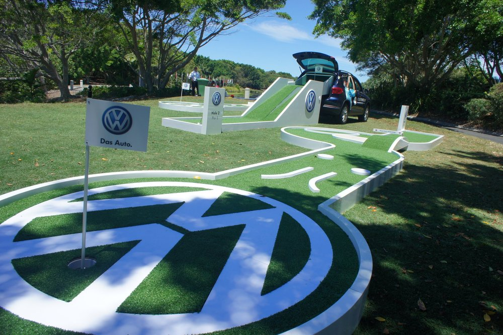 Volkswagen Golf Event at Coolum Golf Course