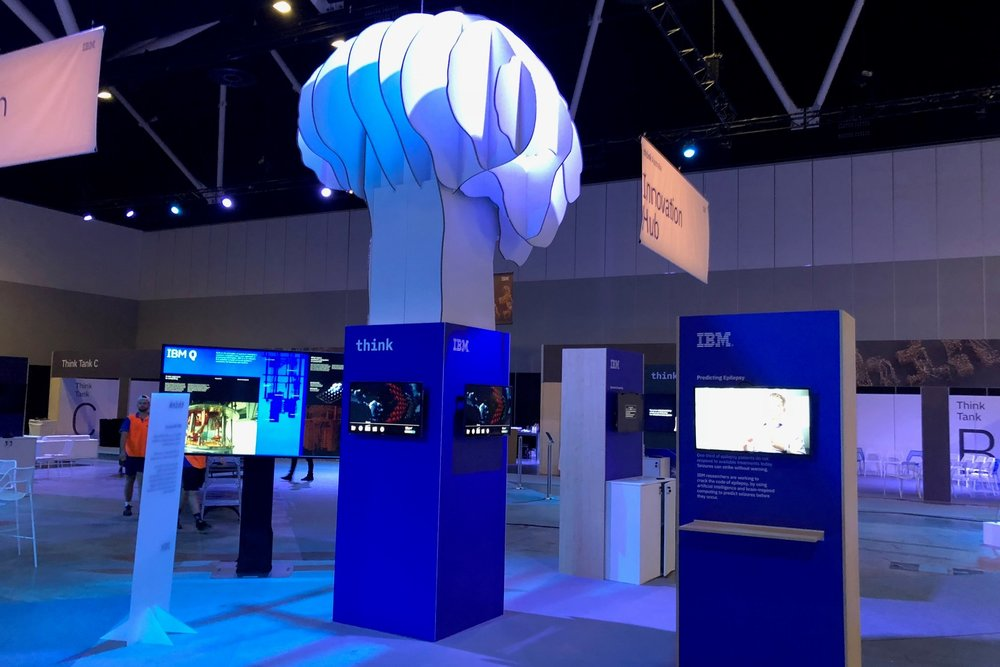 IBM at the Think Summit, 2018