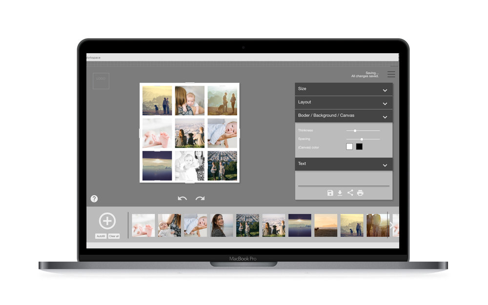 Pro Photo-Collage - An easier, and fully integrated way to create hi-quality photo collages
