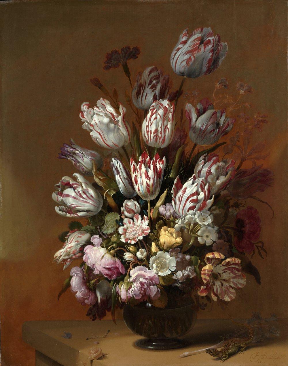Rijksmuseum, Floral Still Life, Hans Bollongier, 1639
