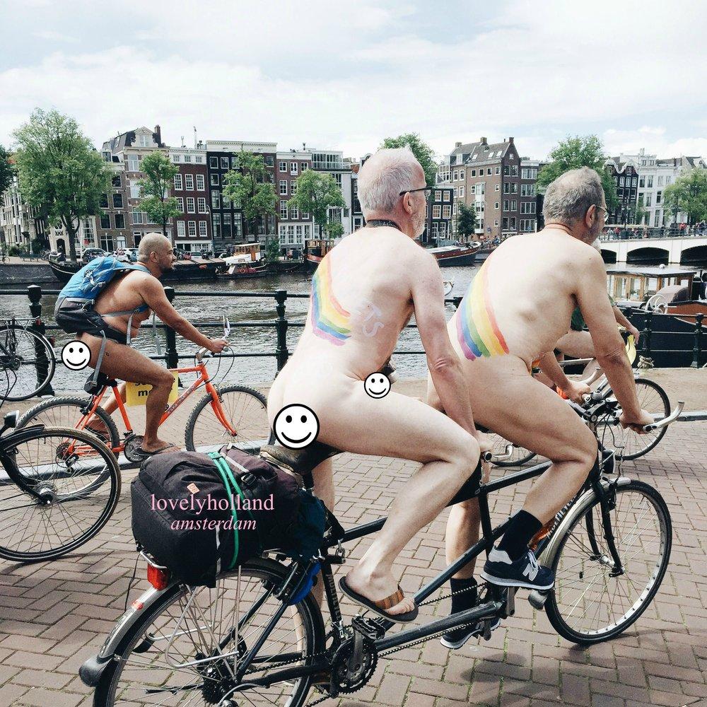 大部分參加的還是男生,有老少有胖瘦,還有各式各樣的腳踏車。