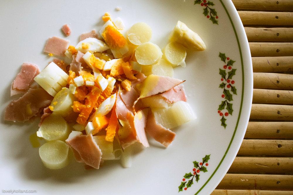 每年4~6月是荷蘭的白蘆筍盛產季節,品質好到世界聞名。鮮甜多汁,清脆爽口