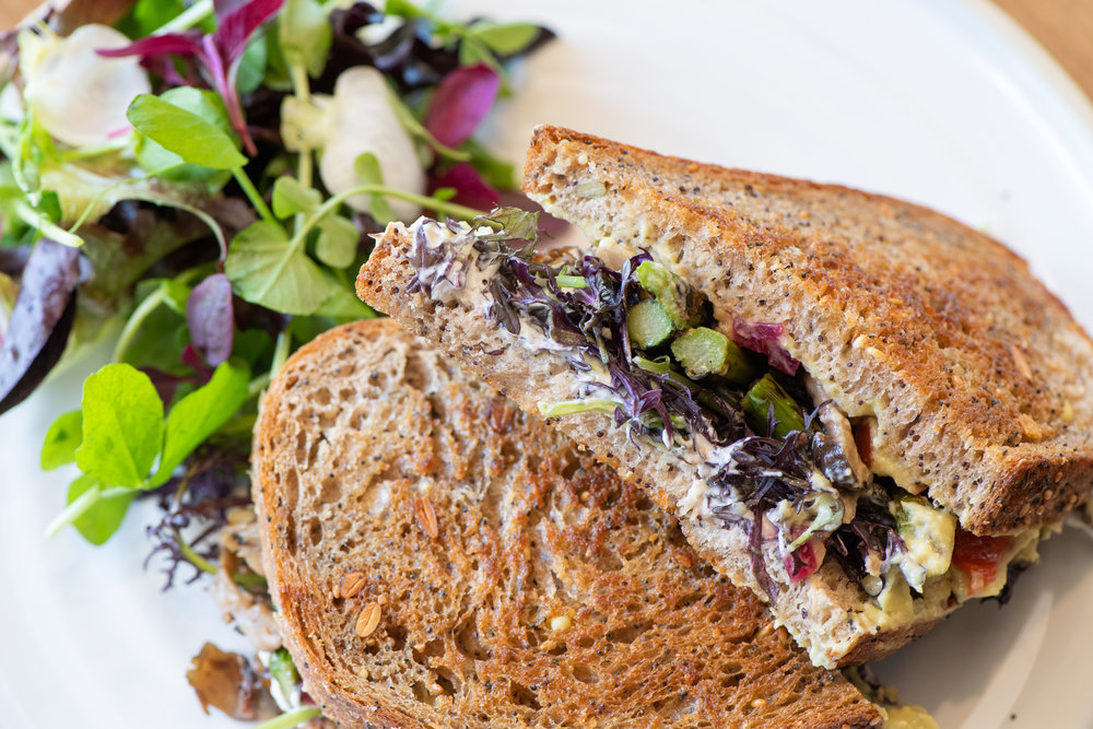 WildMushroom Sandwich