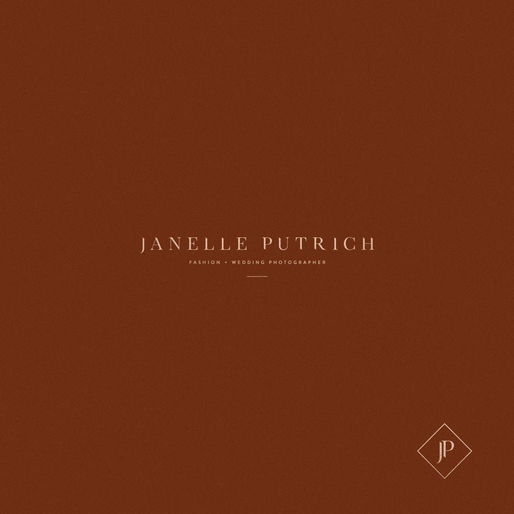 Janelle Putrich Photographer Logo by Mel Volkman Fashion Branding Fashion Logo Photographer Brand Photographer Logo Modern Logo Modern Branding 3.png